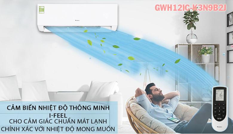 Điều hòa Gree 12.000BTU 2 chiều GWH12IC-K3N9B2J3